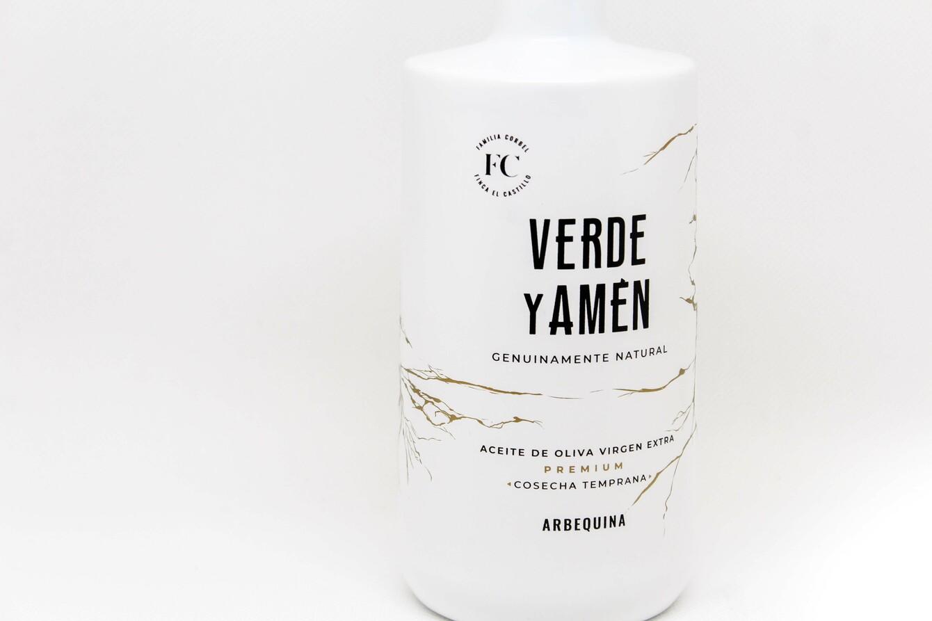 Aceite de Oliva Virgen Extra Verde y Amen Arbequina 500ml detalle