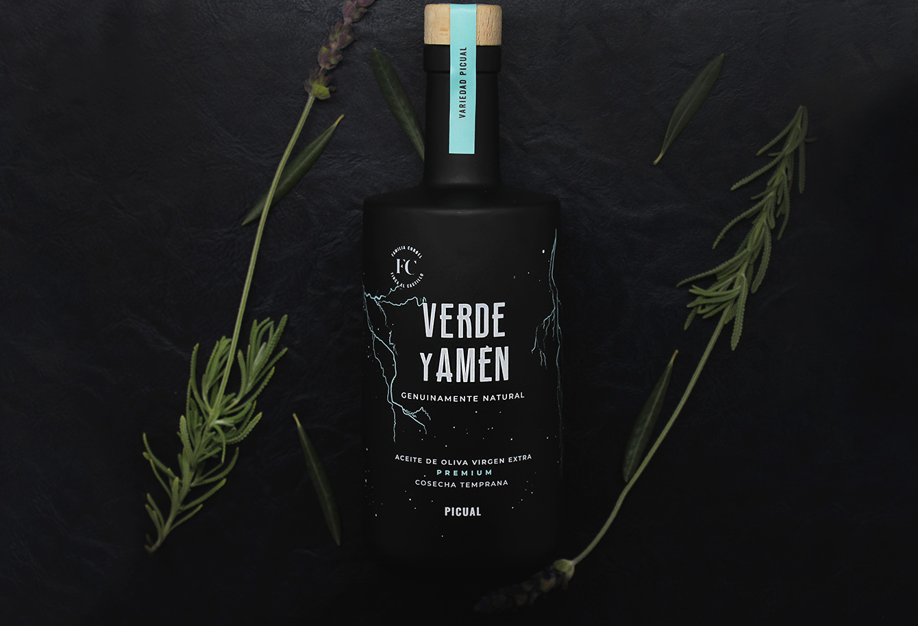 Aceite de Oliva Virgen Extra Verde y Amen Picual botella 500ml